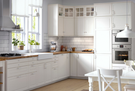 Варианты планировки кухонной мебели
