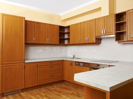 Кухня МДФ Вишня Тисненая п-02