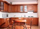 Кухня МДФ Миланский орех У-33
