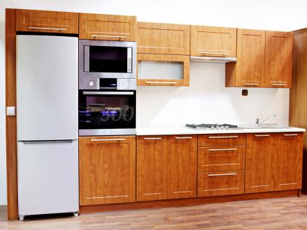 Кухня МДФ рамка Ольха светлая Пр-36