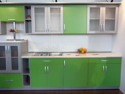 Кухня МДФ Фисташка Пр-27