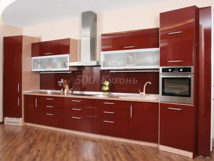 Кухня МДФ пурпур DW Пр-18