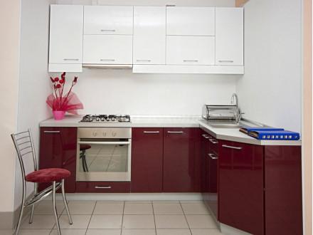 Кухня пластик Альгеро 0001/0538