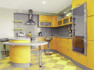 Кухня пластик Малага 0670