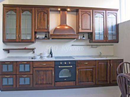 Кухня МДФ Старое дерево Пр-06