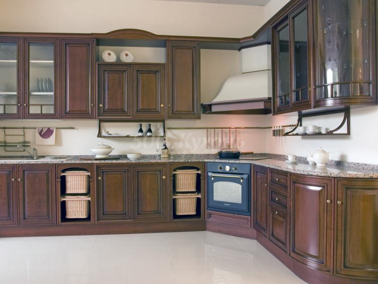 Кухня из массива Сплит