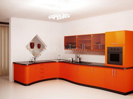 Кухня МДФ Манго глянец У-13