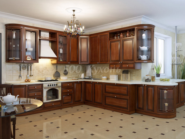 Кухня из массива Измир