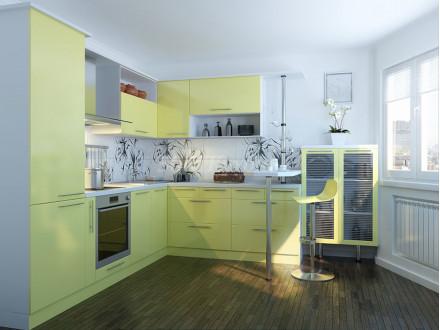 Кухня пластик Лериччи 0561