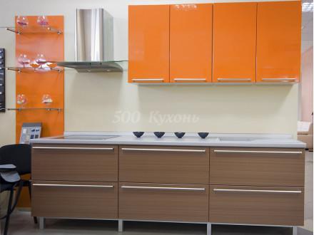 Кухня МДФ Пастель оранж DW Пр-33
