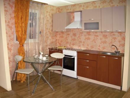 Кухня МДФ Бежевый перламутр/Вишня Пр-29