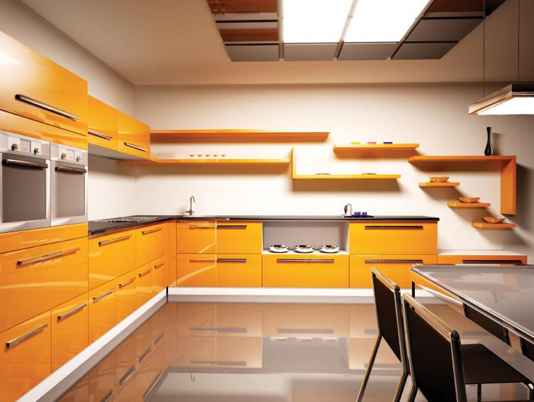 Кухня пластик Бастия 0564
