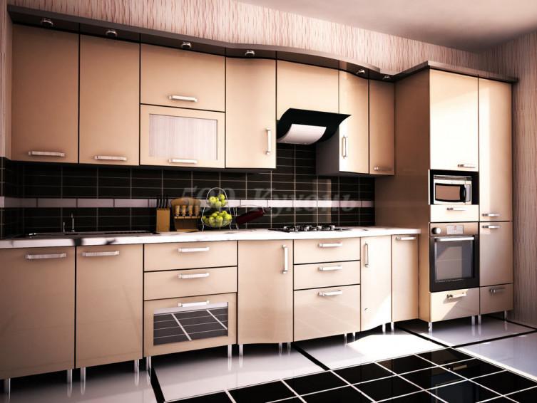 Кухня пластик Лукка 0648