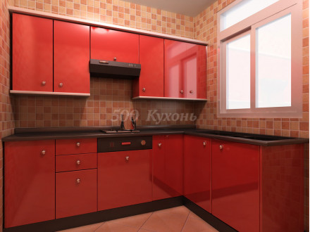 Кухня пластик Торранс 0698