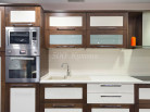 Кухня МДФ рамка Дуб беленый Венге Пр-30